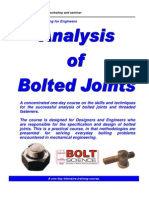 analysisofboltedjointsbrochure_Brochure - Training Course on the Analysis of Bolted Joints.pdf