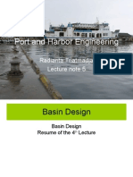 PORT and Harbor Engineering 5