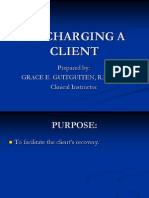 DISCHARGING A CLIENT.ppt