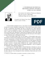 2008 a Universidade Em Portugal Brevissima Resenha Historica by Prof FerLusoSoares 16p