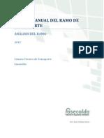 Comportamiento Del Sector Transporte 2012 Fasecolda