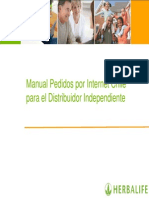 Manual Pedidos Internet2012