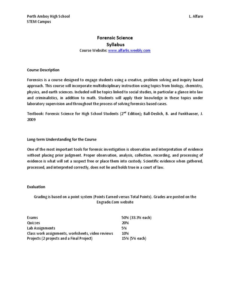 worksheet Forensic Science Case Study Worksheet alfaro forensics curriculum forensic science crime scene