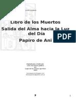 Anon - Libro de Los Muertos - Salida Del Alma Hacia La Luz