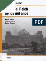 40.- El fin del Reich de los Mil Años - Berlín, abril de 1945