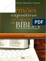 Antônio Renato Gusso - Sermões Expositivos - Novo Testamento