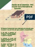 Anexo 08.1 PROMCIÓN DE LA ALTERNATIVA DE SOLUC