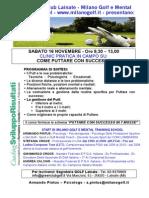 GOLF CLINIC PUTT PINTUS GREEN CLUB GOLF LAINATE 16 NOVEMBRE 2013.pdf