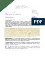 MBA FIN 5302 SYL alternative