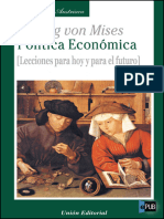 Ludwig Von Mises.politica Economica(v1.0 Leviatan1975)