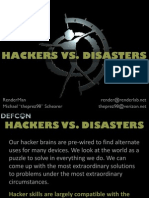 Hackers vs. Disasters Part 1