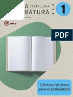 LENGUA Libro de recursos del prof._1º ESO