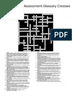 crossword answer key read