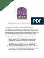 DeKalb County School District Workers Legal Fund