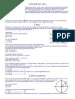 Parametrizacion de Curvas