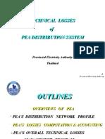 Technical Losses in Pea