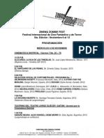 Programación ZZF 2013