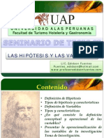 Las Hipotesis y Variables 00