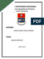 informe mapa estructural