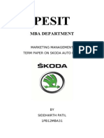 marketing term paper ....skoda.doc