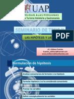 Las Hipotesis y Variables 02