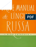 Breve Manual de Língua Russa - Nina Potapova