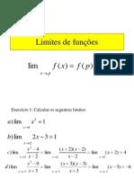 Limites de funções
