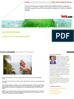 Blog Hola Com Farmaciameritxell 2013 05 Osteoporosis HTML