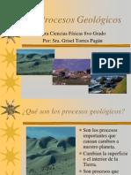 Los Procesos Geológicos