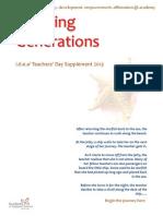 inspiring generation idea2 teachers day supplement 2013