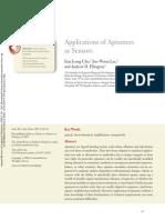 Applications of Aptamers as Sensors