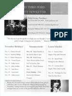 RS Newsletter - Nov. 2013