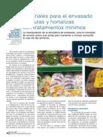 Materiales Para El Envasado de Frutas y Hortaliza IV Gama