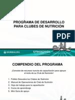Dom Andres Gutierrez and Martha Muriel Programa de Desarrollo de CN
