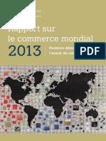 Rapport Sur Le Commerce Mondiale 2013