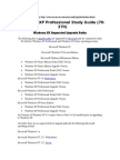 MSCE-Study Guide- 2_Windows XP Supported Upgrade Paths- 70-270.rtf