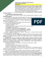Administrare Public (Admintere 2013)