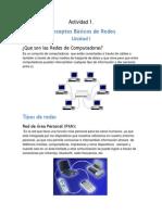 Actividad 1 Conceptos Basicos de Redes