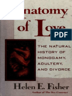 Anatomy of Love _ The Natural History of Mmonogamy, Adultery, and Divorce - Fisher, Helen E.epub