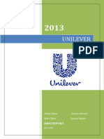 Unilever HRM.docx