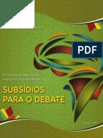 Subsidios Debate
