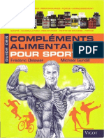 Guide Des Complements Alimentaires Pour Sportifs (Delavier& Gundill) - Pages Principales Du Livre