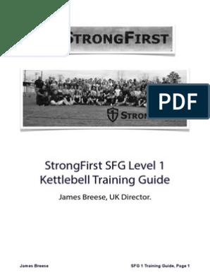 SFGPrepGuide pdf | Kettlebell | Physical Fitness