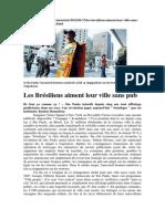 Les Bresiliens Aiment Leur Ville Sans Pub