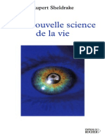Rupert Sheldrake - Une Nouvelle Science de La Vie (Biologie.psychologie.darwin.evolution.meditation.zen)