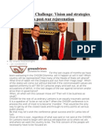 Post-CHOGM Challenge  Vision and strategies for Sri Lanka's post-war rejuvenation
