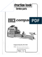 EMCO Compact 5 Manual