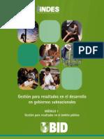 UNAM HFL Modulo 1 - Gestion Para Resultados en El Ambito Publico