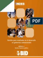 UNAM HFL Modulo 4 - Gestion Financiera Publica