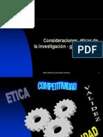 2etica de La Investigacion